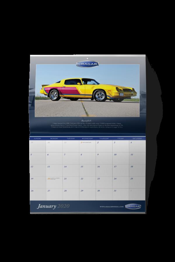 2020 Cragar Calendar